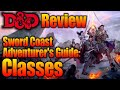 Character Classes- Sword Coast Adventurer's Guide to the Forgotten Realms Review