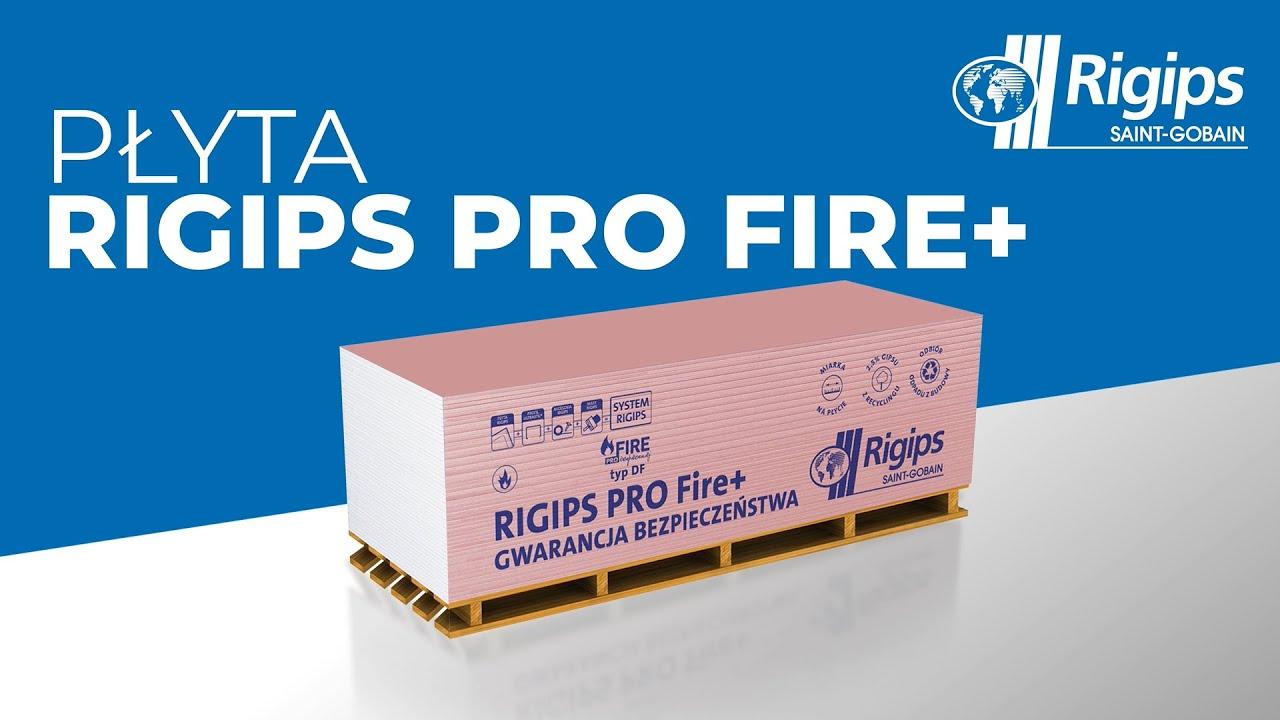 Rigips rekomenduje: Płytę Rigips PRO Fire+