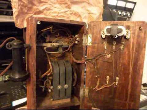 kellogg wood wall crank telephone repair and conversion a kellogg wood wall crank telephone repair and conversion a1 telephone com 618 235 6959