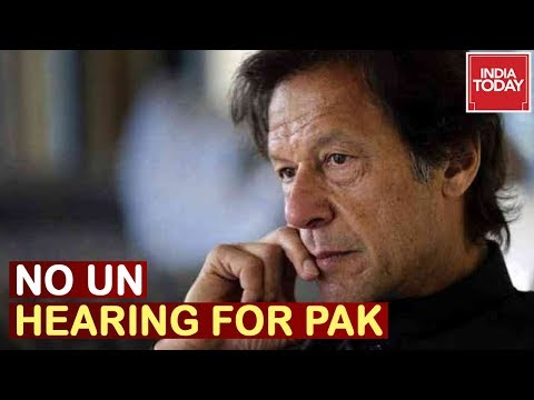 No UN Hearing For Pakistan, World Stands With India On Kashmir Matter