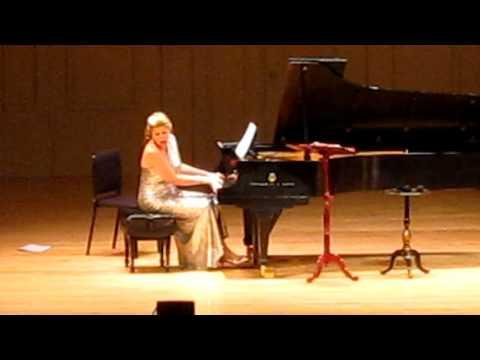 Susan Graham sings La Vie en Rose. Boston 2013
