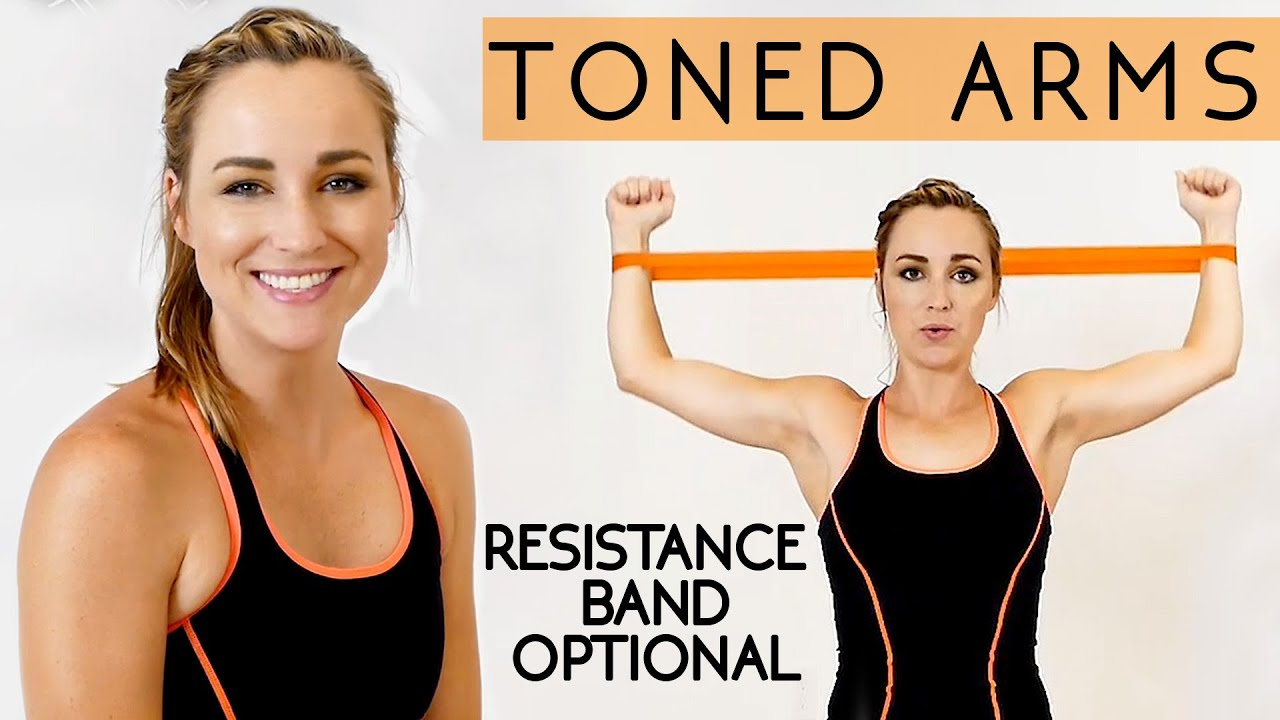 Toned Tank Top Arms In 12 Minutes How To Lose Arm Fat Workout