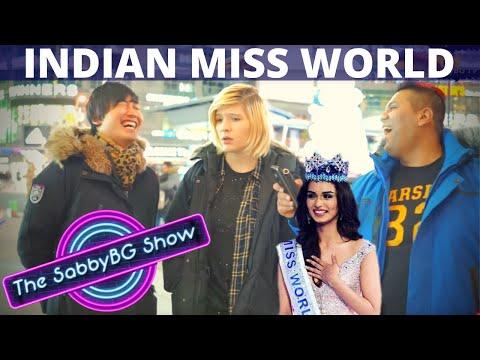 AMERICANS React to MANUSHI CHHILLAR winning Miss World 2017 |  Americans on Manushi Chhillar
