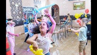 видео Детский день рождения в стиле Лего