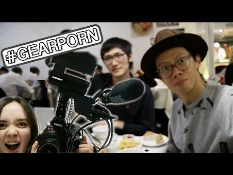 Dim Sum w/ KAIMANWONG + Tim   Vlogmas #7ish   ASHAETC