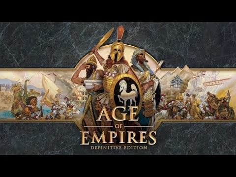 Age of Empires Definitive Edition Ave Caesar Campaign-#3 The Siege of Alesia Mission