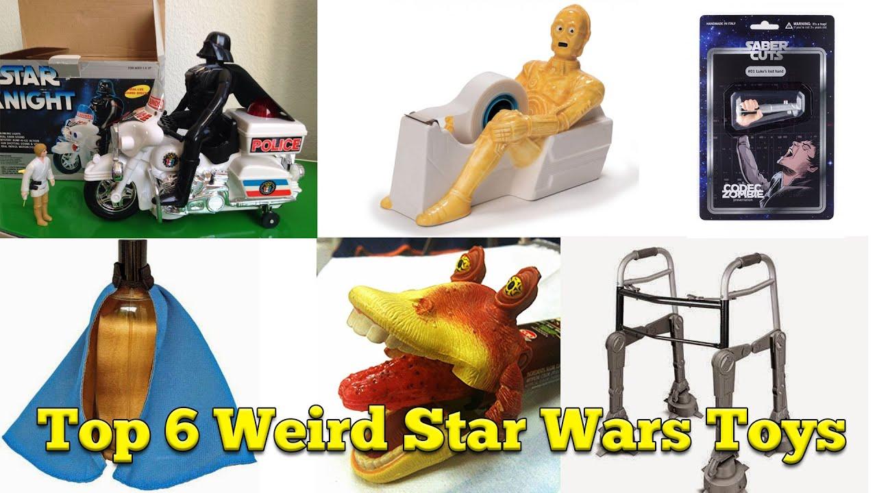 top 6 weirdest star wars merchandise that hashtag countdown youtube. Black Bedroom Furniture Sets. Home Design Ideas