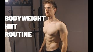 Bodyweight HIIT Workout For Six-pack Abs