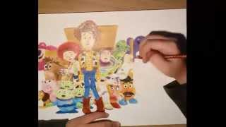Speed drawing - Toy Story 3 [my style]