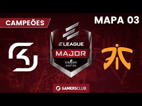 ELEAGUE Major: Boston 2018 (Quartas de final) SK x fnatic (M3 Mirage)