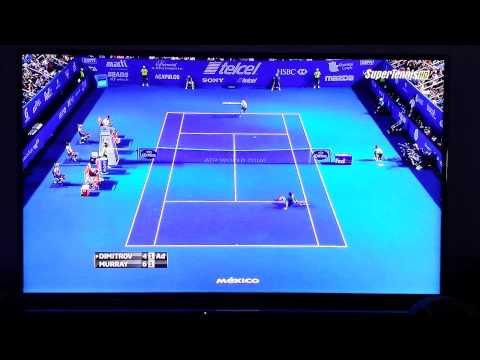 HD Dimitrov - Murray Best point ATP Mexico Acapulco 2014