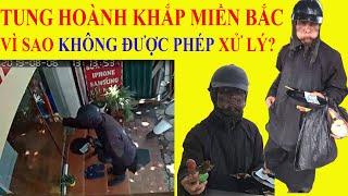 """CHƯA ĐƯỢC PHÉP xử lý """"nhóm mặt đen cầm đầu gà xúc xích"""""""