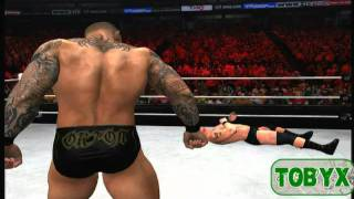 WWE 12 Universe Mode Cut Scenes