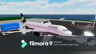 Lermonde Airlines A320 - France Économie Premium (Premium Economy) Vol Roblox