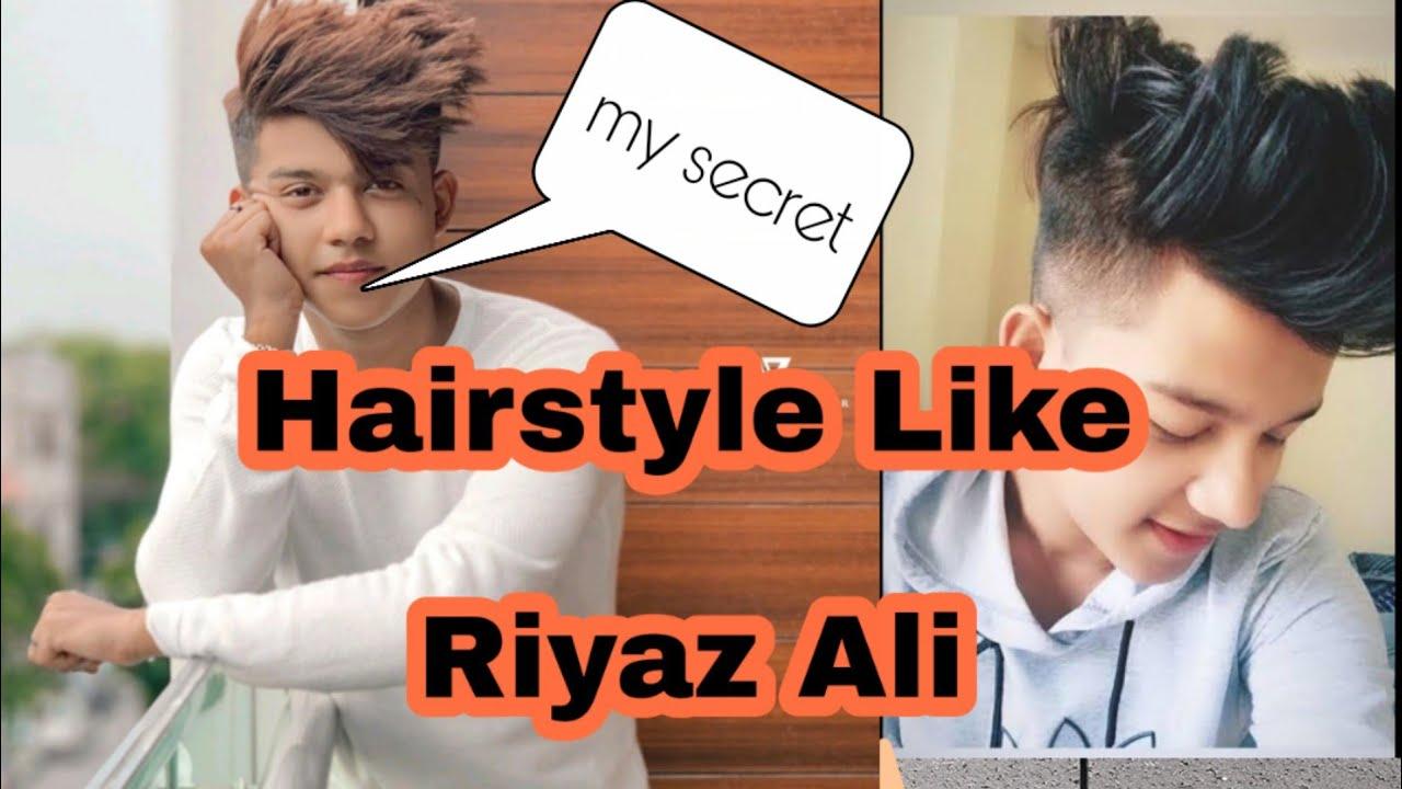 Riyaz Ali How To Set Hairs Like Riyaz Ali Live Demo Youtube
