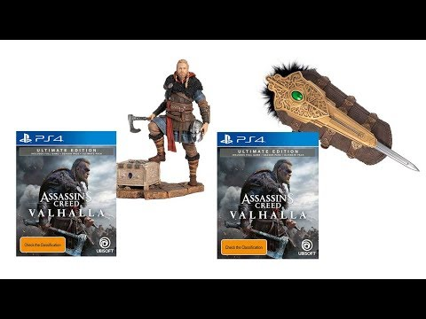 Upcoming Assassin S Creed Valhalla Ultimate Edition Eivor Statue Bundle Youtube