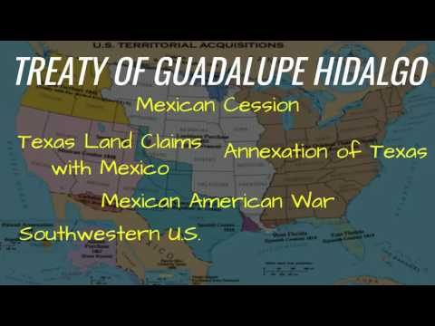 Expansion  Expansion by Purchase and Treaty  Slide 10 Treaty of Guadalupe Hidalgo