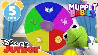 Muppet Babies | Learn The Colours! 🌈 | Disney Junior UK
