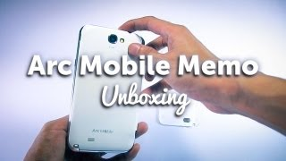 Unboxing/Overview Arc Mobile Memo Mediatek MT6589 Quad Core Phone/Phablet - First Impression