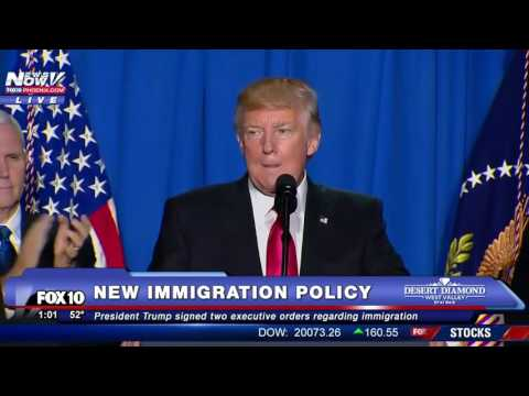 FULL SPEECH : US President Donald Trump NEW Immigration Policy AND Border Wall Details