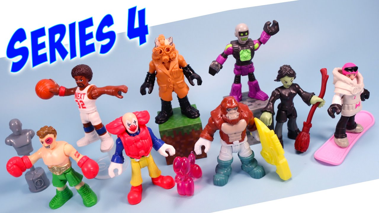 Imaginext Mystery Figures Series 4 Opening And Codes