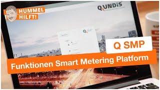 Grundfunktion der QUNDIS Smart Metering Plattform Q SMP erklärt