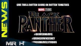 Black Panther Rotten Tomatoes Score SABOTAGED