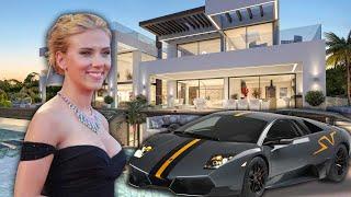 Los lujos más raros y enfermos de Scarlett Johansson