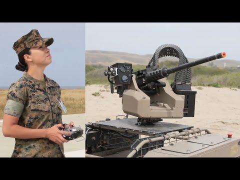 Future Marines could invade enemy beaches with drones and robots