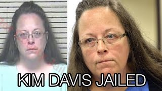 Kentucky Clerk Kim Davis Goes to Jail, Refuses to Issue Gay Marriage Licenses, Rowan County