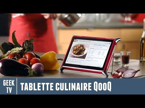 Test De La Tablette Culinaire Qooq Partie 1 Sur 2 Youtube