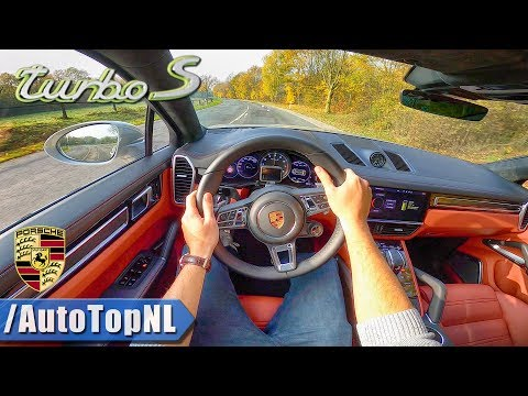 2020 PORSCHE CAYENNE TURBO S 680HP | POV Test Drive by AutoTopNL