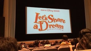 TOKYO Disney RESORT Let's Share a Dream  東京ディズニーリゾート レッツ・シェア・ア・ドリーム