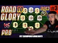 I MATCHED A PRO IN MY 1ST FUT CHAMPS RTG WEEKEND LEAGUE!! FIFA 21 ROAD TO GLORY! #3