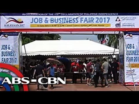 TV Patrol: 100,000 openings dito at abroad, inialok sa job fairs