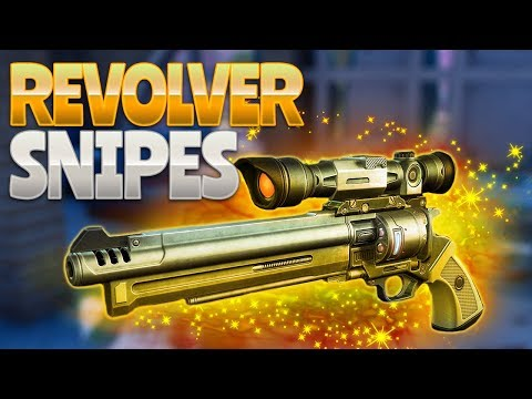 REVOLVER SNIPES! (Fortnite Battle Royale)