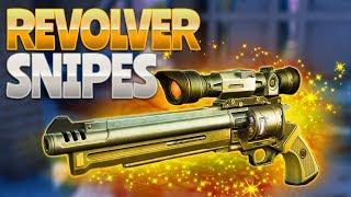 REVOLVER SNIPES! (Fortnite Battle Royale)