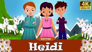 Heidi in German | Gute Nacht Geschichte | Märchen | Geschichte | Deutsche Märchen