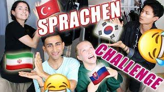 LANGUAGE CHALLENGE   DU S** 😳 KOREA vs TURKEY etc.