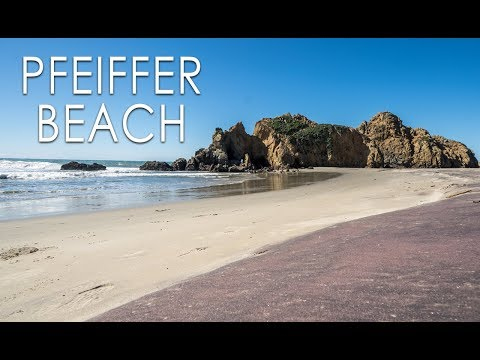 Pfeiffer Beach: Purple Sand & Keyhole Arch in Big Sur