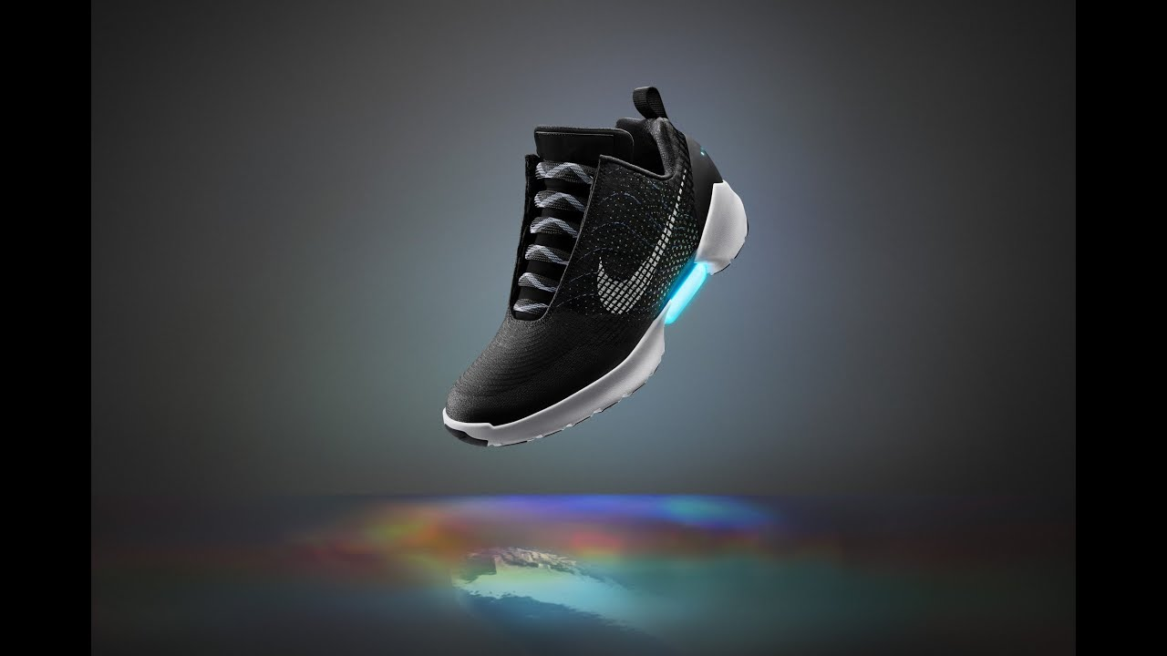 Nike's self lacing shoes from Back to the Future are here!