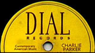 Drifting On A Reed by Charlie Parker on 1947 Dial 78.