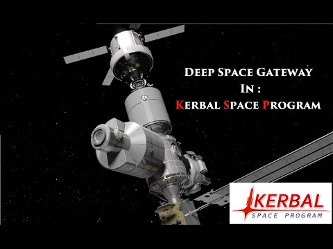 [KSP 1.2] NASA Deep Space Gateway and DSTransport to Mars  [Craft Concepts]