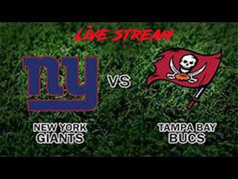 New York Giants Live Stream! NY Giants Vs. Tampa Bay Bucs