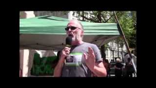 Global Cannabis March 2013: Paul Loney - Defend Your Rights