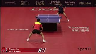 Zhang Jike vs Jingkun Liang [ Japan Open 2018 ] R16