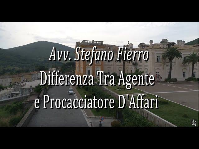 𝐒𝐜𝐨𝐩𝐫𝐢𝐚𝐦𝐨 𝐥𝐚 𝐝𝐢𝐟𝐟𝐞𝐫𝐞𝐧𝐳𝐚 𝐭𝐫𝐚 𝐀𝐠𝐞𝐧𝐭𝐞 𝐞 𝐏𝐫𝐨𝐜𝐚𝐜𝐜𝐢𝐚𝐭𝐨𝐫𝐞 di Stefano Fierro