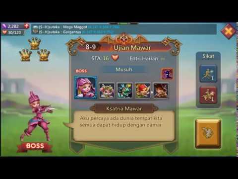 Kombinasi Hero Tahap Elite 8-9 Lords Mobile