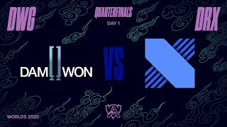 DWG vs DRX | Quarterfinals Day1 H/L 10.15 | 2020 월드 챔피언십
