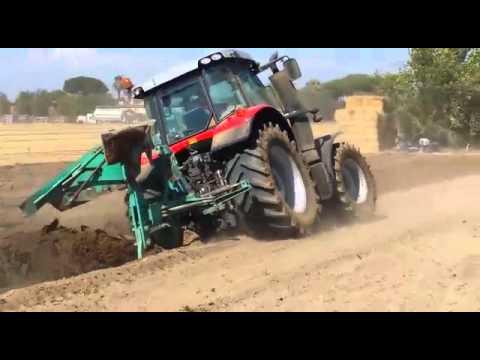 Prova In Campo Zamponi Spa Maccarese Massey Ferguson 6613 Con